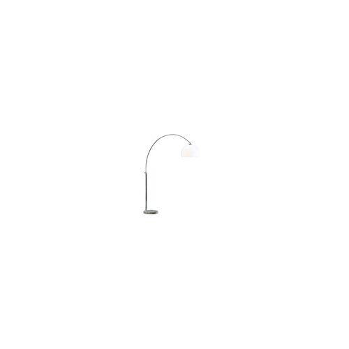 Trio Leuchten Bogenleuchte in weiß, 118 cm