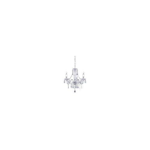 TRIO Reality Leuchten Kronleuchter in klar, 40 cm