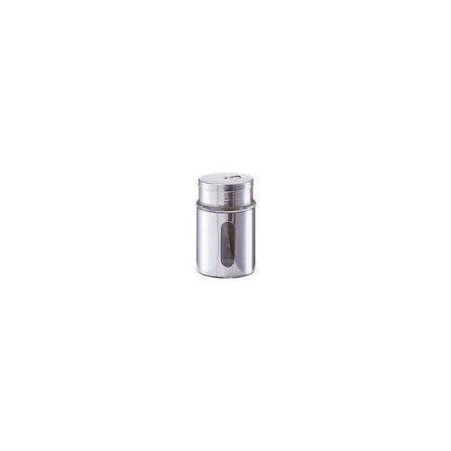 Zeller Gewürzstreuer aus Edelstahl, 7 x 10,5