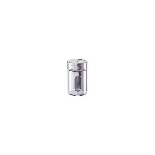 Zeller Gewürzstreuer aus Edelstahl, 5 x 8,5 cm