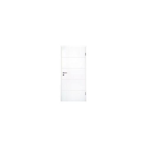 Wellker Zimmertür Super-Spar-Set Luanda, DIN Links, 80-98 mm,860x1985 mm