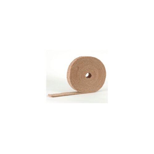 THERMO HANF Trittschalldämmung STEP Hanffilzstreifen Schallschutz, 5 mm