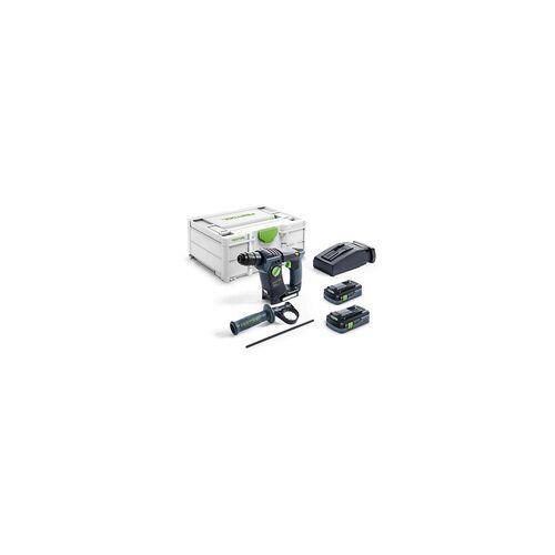 Festool Akku-Bohrhammer BHC 18 HPC 4,0 I-Plus