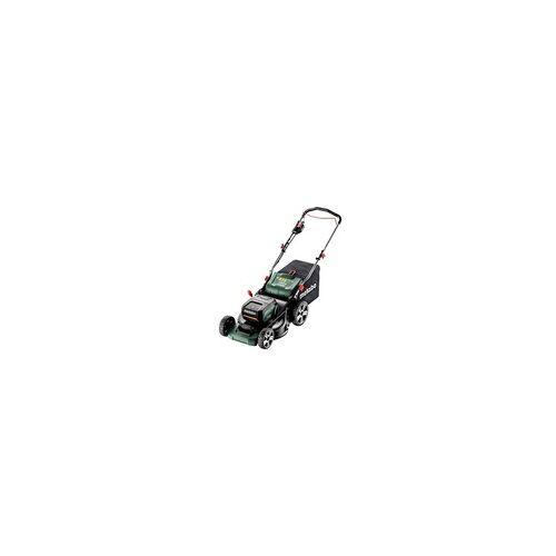 Metabo Akku-Rasenmäher RM 36-18 LTX BL 46 (601606650); Karton; 18V 2x5.2Ah Li-Ion + ...