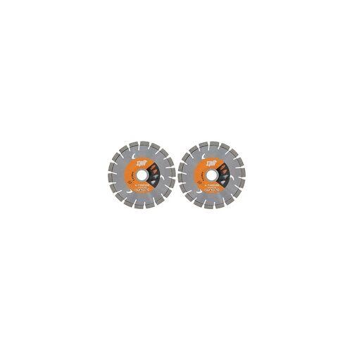Paslode ITW Spit Diamant-Trennscheibe 150 mm Set X-Treme Universal 610197 2 Scheiben=VE