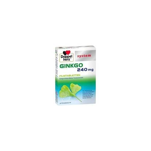 Queisser Doppelherz Ginkgo 240 mg system
