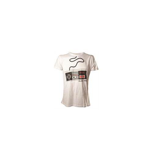 Nintendo Bioworld Merchandising Nintendo - T-Shirt NES Controller (Größe M)