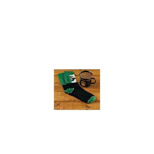 Harry Potter Geschenkset - Tasse + Socken Slytherin