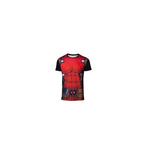 Bioworld Merchandising Marvel Deadpool - T-Shirt Suit (Größe S)