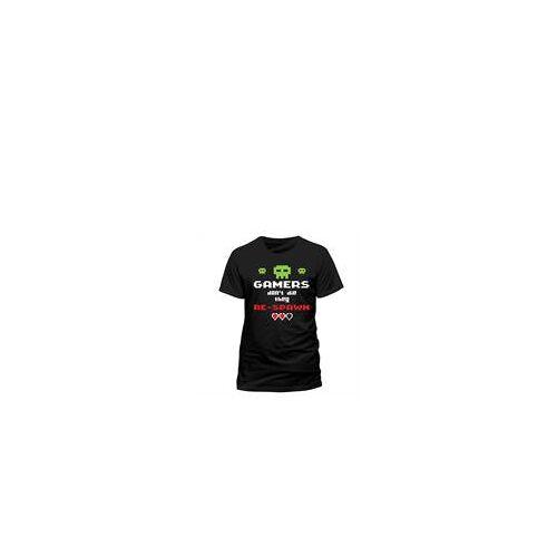Gamer - T-Shirt Gamers don't die (Größe M)