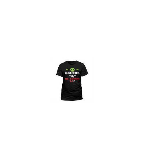 Gamer - T-Shirt Gamers don't die (Größe L)