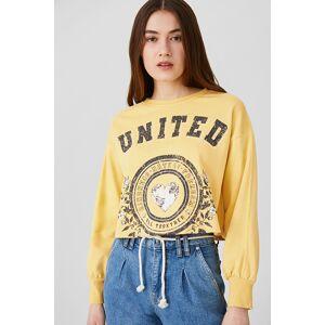 Clockhouse C&A Sweatshirt, Gelb, Größe: L
