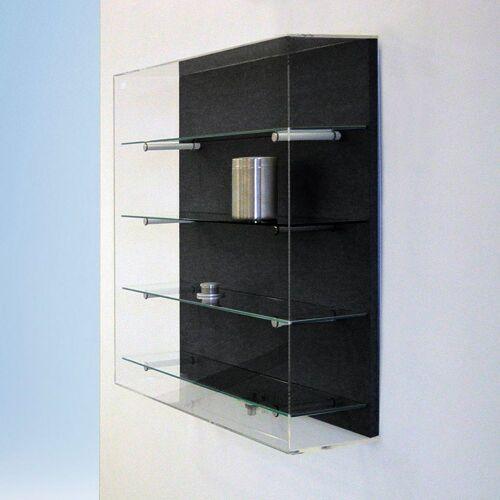 BST FORUM Wandvitrine mit Acrylglashaube b80xt20xh80cm