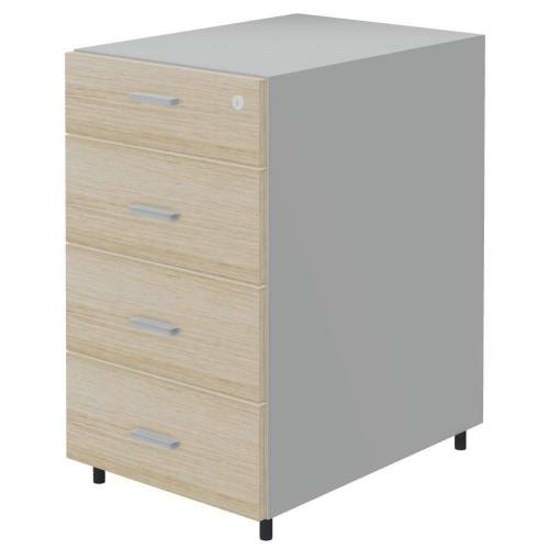 TREND PUR 4er Standcontainer, 60cm tief