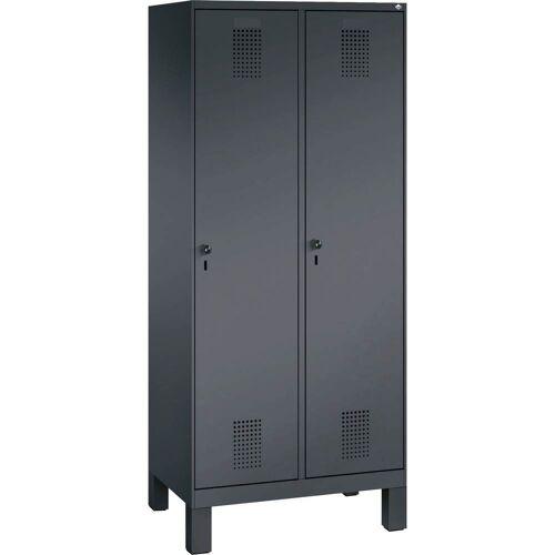 C+P Aufbewahrungsschrank, 2 Abteil, b80xt50xh185cm