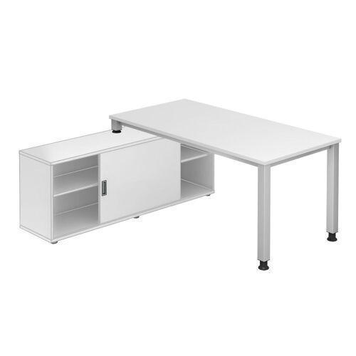 EXPRESS QSE Schreibtisch mit Sideboard