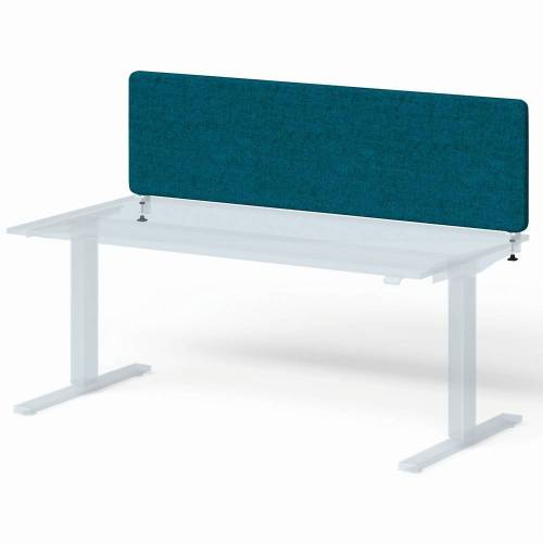 BISLEY VARIA Schreibtisch mit Screen Basic (h65xb160cm) Sichtblende
