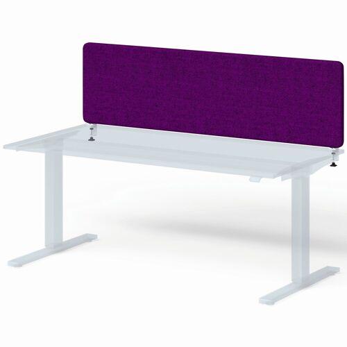 BISLEY VARIA Schreibtisch mit Screen Basic (h45xb180cm) Sichtblende