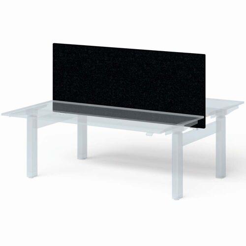 BISLEY VARIA DUO Schreibtisch, Screen Basic (h65xb160cm) Sichtblende