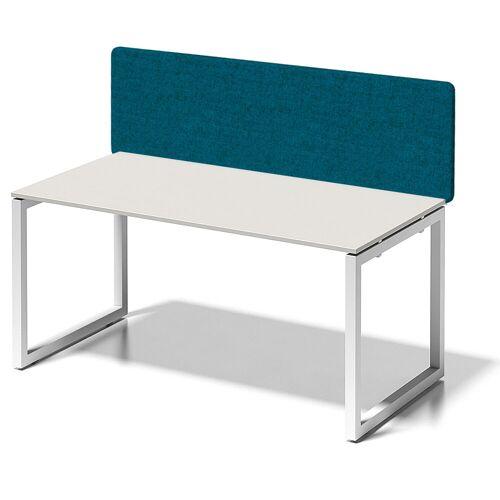 BISLEY CITO Schreibtisch mit Basic Sichtblende (h65cm), b160xt80xh74cm