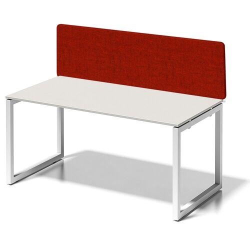 BISLEY CITO Schreibtisch mit Basic Sichtblende(h65cm), b180xt80xh74cm