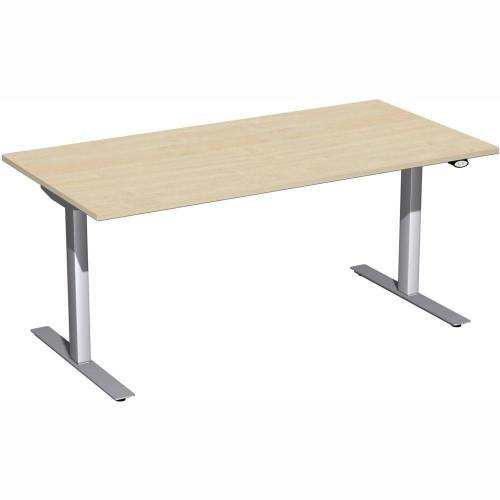 GERAMÖBEL Elektro Flex Schreibtisch, elektrisch verstellbar