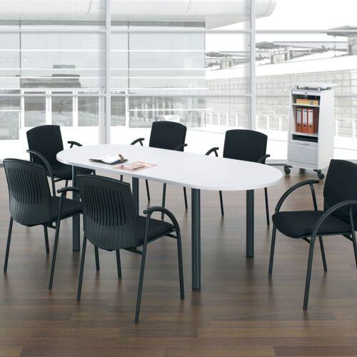 GERAMÖBEL Konferenztisch Ovalform