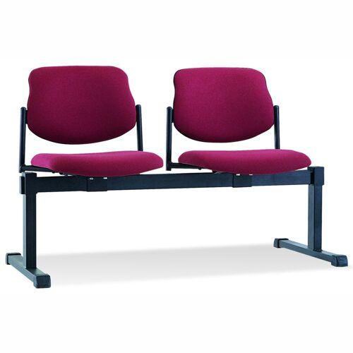 STYL Sitzbank mit Metallgestell, für 2 oder 3 Sitzplätze