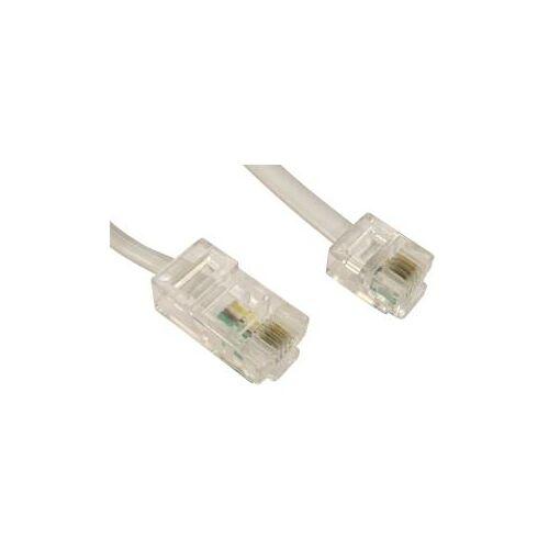 Cables Direct - Modemkabel - RJ-45 (M) bis RJ-11 (M) - 3 m - flach