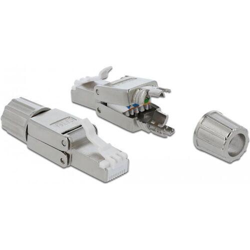 DeLOCK - Netzwerkanschluss - RJ-45 (S) - STP - CAT 6a (86477)