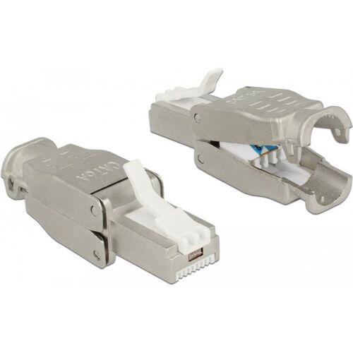 DeLOCK - Netzwerkanschluss - RJ-45 (S) - STP - CAT 6a (86427)