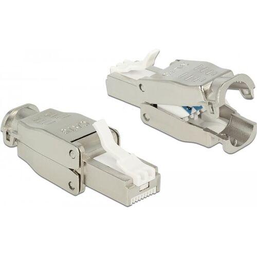 DeLOCK - Netzwerkanschluss - RJ-45 (S) - STP - CAT 6 (86426)