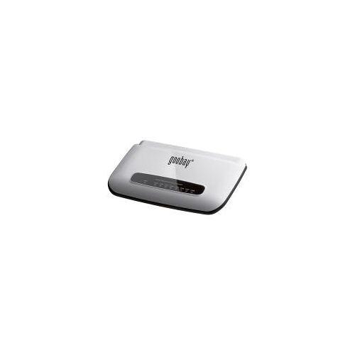 Wentronic Goobay 8 Port Netzwerkverteiler, Gigabit Ethernet Switch - mit 8x 10/100/1000Mbps Auto-Negotiation RJ45 Ports (93373)