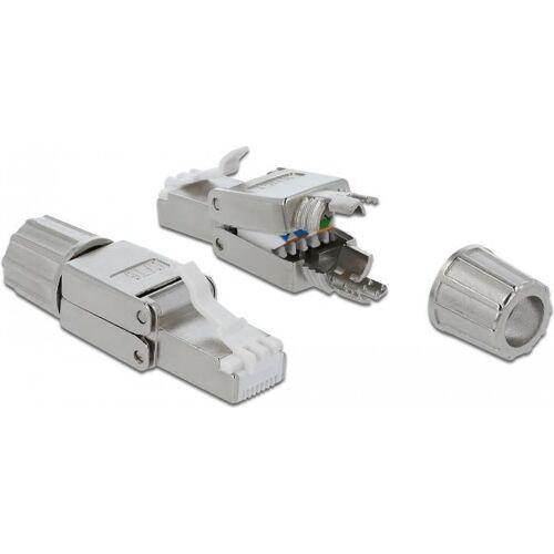 DeLOCK - Netzwerkanschluss - RJ-45 (S) - STP - CAT 6 (86476)