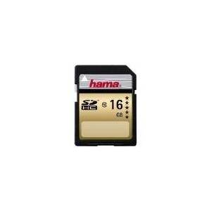 Hama High Speed Gold - Flash-Speicherkarte - 16GB - Class 10 - SDHC (00104367)