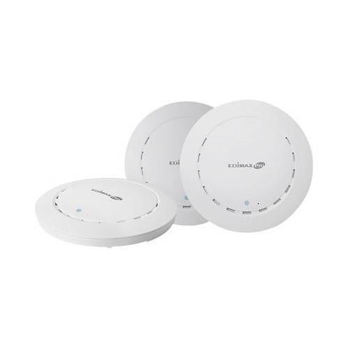 EDIMAX Mesh Netzwerk Set 3er-Pack WLAN Access-Point 1.300 MBit/s 5 GHz (Mesh Netzwerk Set)