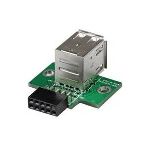 StarTech.com 2 Port USB Motherboard Header Adapter - USB-Adapter - USB (W) bis 10-poliger USB-Header (W)