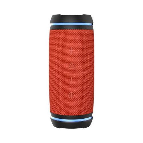 SWISSTONE BX 520 TWS orange BT Lautsprecher mit True Wireless Stereo-Funktion Freisprechen Wasserfest IPX6 LED-Ring 2x 12W (450115)