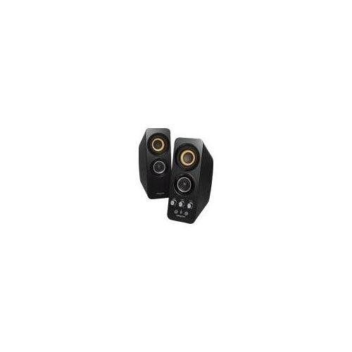 Creative T30 Wireless - Lautsprecher - kabellos - Bluetooth, NFC - zweiweg - Gloss Piano Black