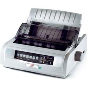 Oki Microline 5520eco - Drucker - monochrom - Punktmatrix - 254 mm (Breite) - 240 x 216 dpi - 9 Pin - bis zu 570 Zeichen/Sek. - parallel, USB (01308601)