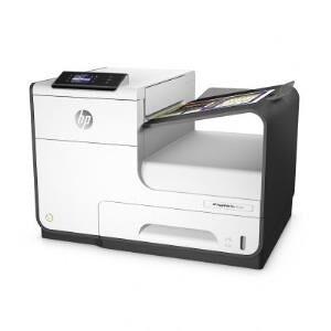 HP PageWide Pro 452dw - Drucker - Farbe - Duplex - seitenbreite Palette - A4/Legal - 1200 x 1200 dpi - bis zu 55 Seiten/Min. (s/w) / bis zu 55 Seiten/Min. (Farbe) - Kapazität: 500 Blätter - USB 2.0, LAN, Wi-Fi(n), USB 2.0-Host