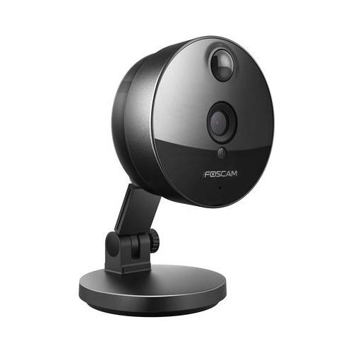 Foscam C1 Wireless Netzwerkkamera HD 720p schwarz (207-96300-04)