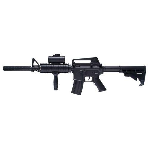 Schmeisser GSG Airsoft Schmeisser AR-15 AEG 0.5 J schwarz