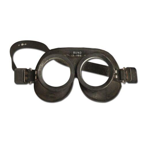 Bundeswehr Original BW Gasschutzbrille gebraucht