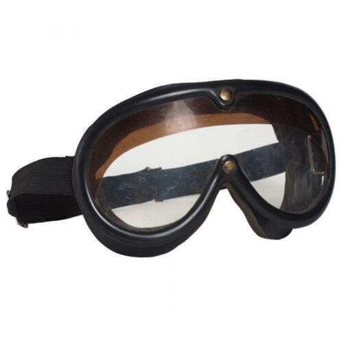 Bundeswehr Original BW Korbschutzbrille schwarz gebraucht