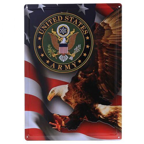 101 Inc. Metallschild United States Army