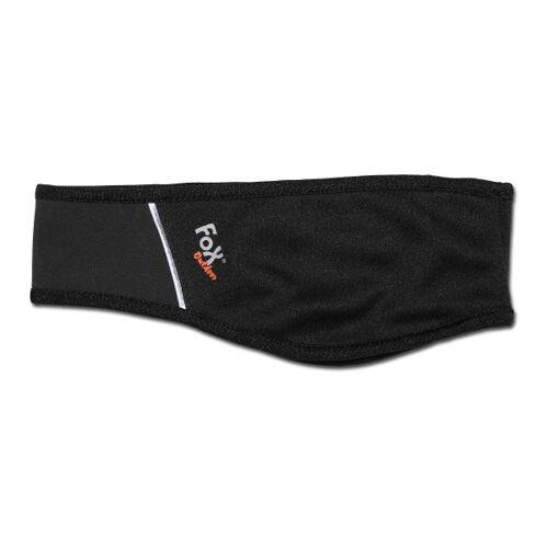 Fox Outdoor Stirnband Fox Outdoor Softshell schwarz