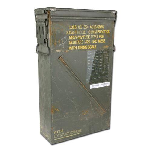 US Army Munikiste US Gr. 8 gebraucht