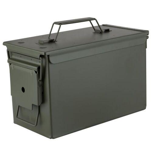 Munitionskiste US Metall Cal. 50 oliv