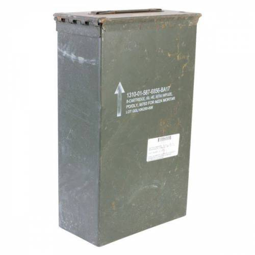 US Army MuniKiste US Größe 2c gebraucht